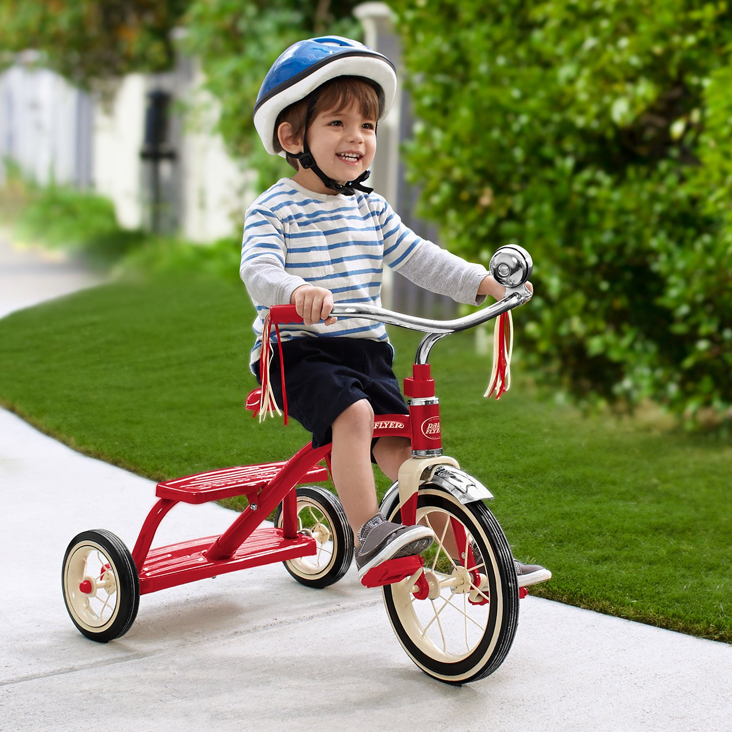 Radio Flyer Classic Red Dual Deck Tricycle by Radio Flyer (Image #6)