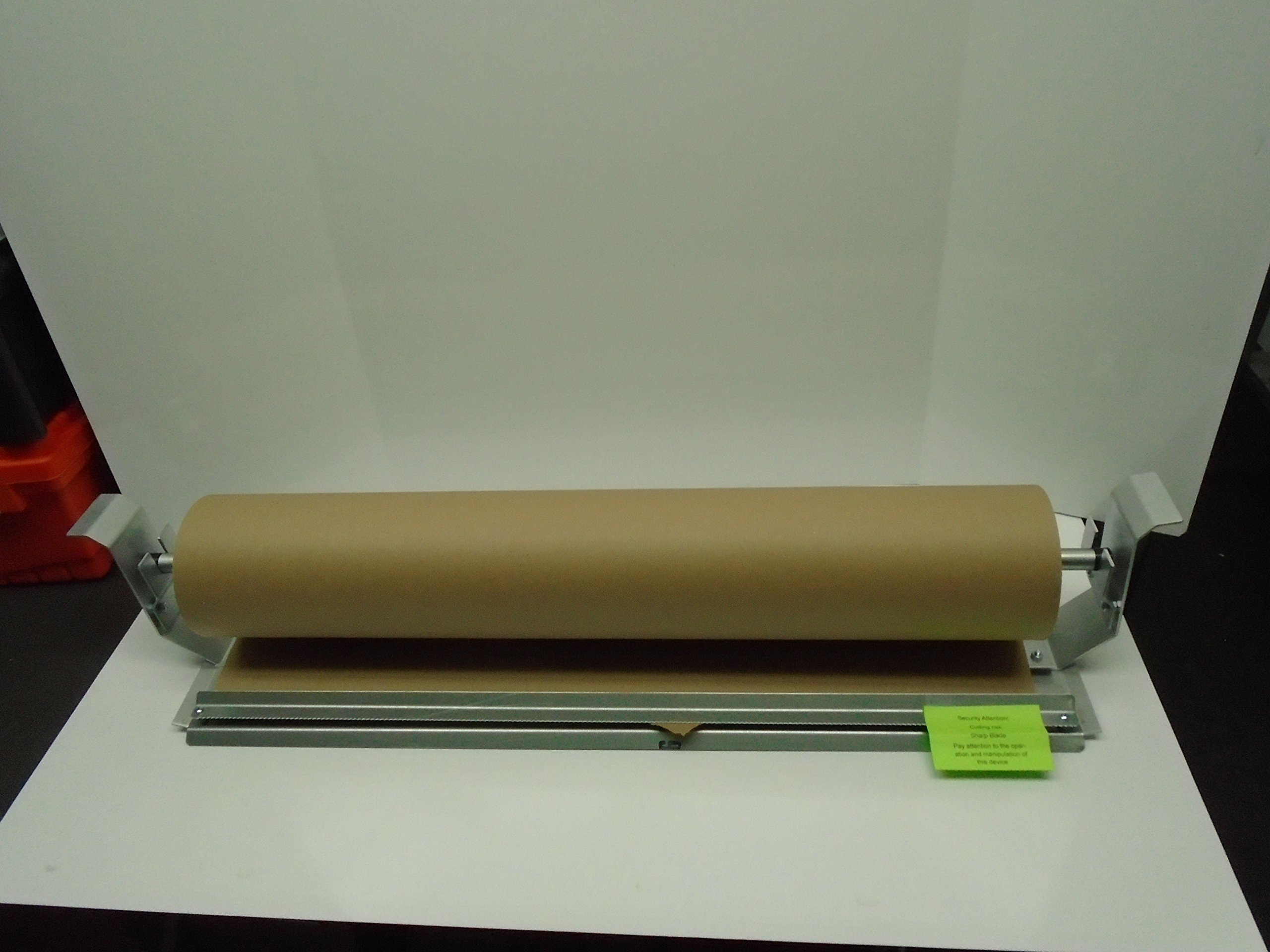 Paper Cutter Roll Dispenser Econoline 60 inches table mount Kraft paper Duralov