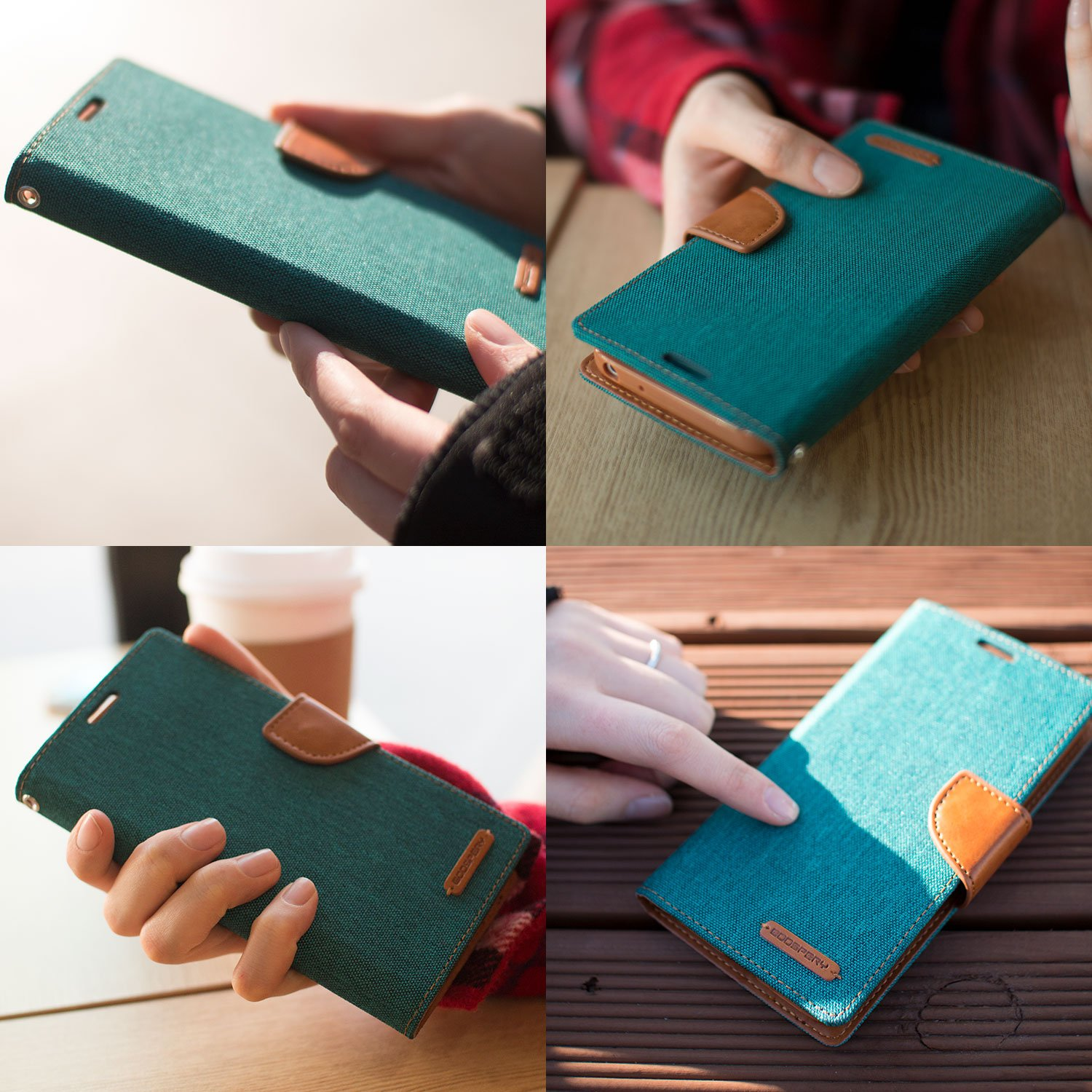 Galaxy A5 2016 Wallet Case With Free 4 Gifts Shockproof Goospery Samsung J2 Canvas Diary Green Ver Magnetic Card Holder Kickstand Flip Cover For