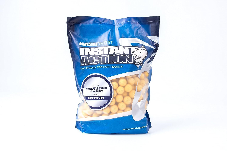 Nash Bait Instant Action Boilies 2.5kg Pineapple Crush 20mm