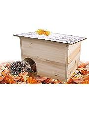 Gardigo 90568 - Maison pour hérissons | Abri, habitation pour hérisson | entrée labyrinthe pour garantir une protection optimale