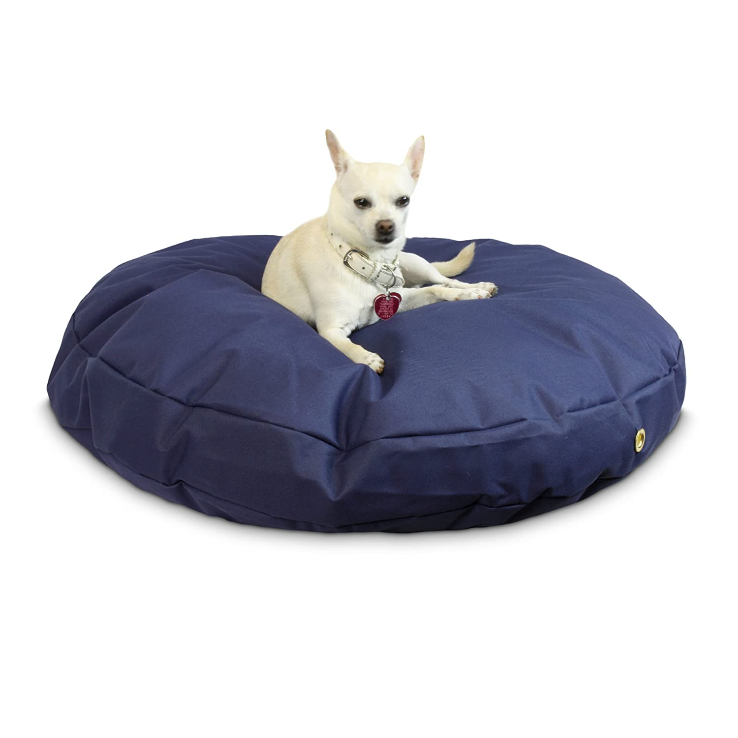 Small Snoozer 76001 Small, 36-Inch Waterproof Round Pet Bed, Navy