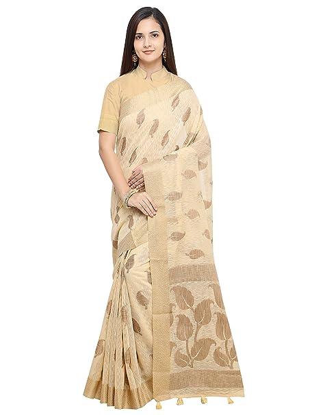 4c5c63b66e14fb Pisara Women Banarasi Jute Silk Saree