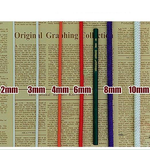 ROSENICE 4mm Nylon Seil Mehrzwecke geflochten Seil 100M für ...