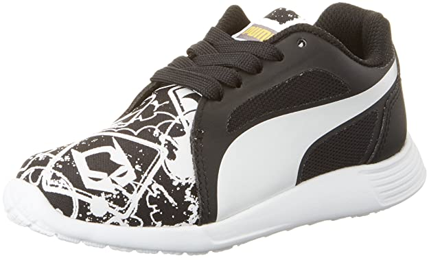 Puma Batman St Trainer Evo Street PS, Sneakers Basses Mixte enfant, Noir  Black White 01, 33 EU: Amazon.fr: Chaussures et Sacs