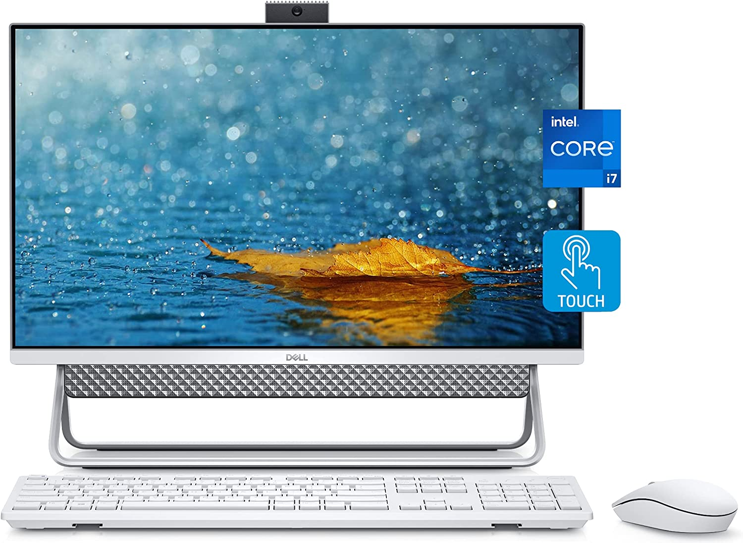 Dell 2021 Inspiron 24 5000 All-in-One Desktop, 24