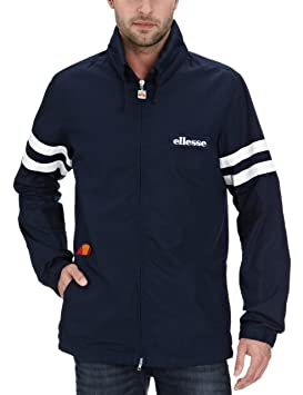 bf8735c785f1c ellesse Mundial Heritage Men s Jacket blue blue Size M  Amazon.co.uk ...