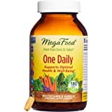MegaFood - One Daily, Multivitamin Support for Immune and Nervous System Health, Energy Production, and Mood Balance with Folate and B Vitamins, Vegetarian, Gluten-Free, Non-GMO, 180 Tablets (FFP)