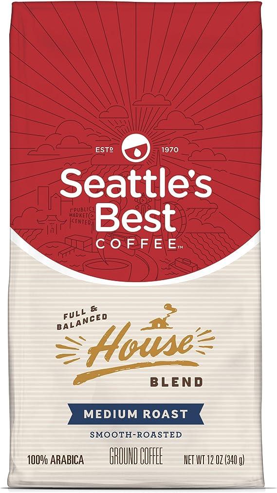 Seattle's Best Coffee House Blend Medium Roast Ground Coffee