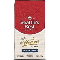 Seattle's Best Coffee House Blend Medium Roast Ground Coffee, 12-Ounce Bag
