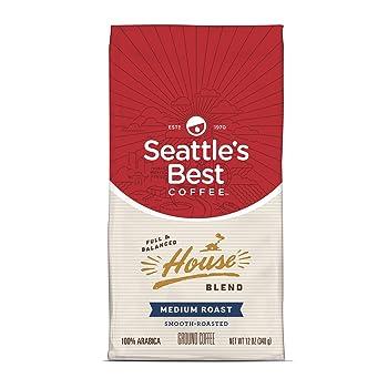 Seattle's Best Coffee Full-Flavored Medium Roast Coffee