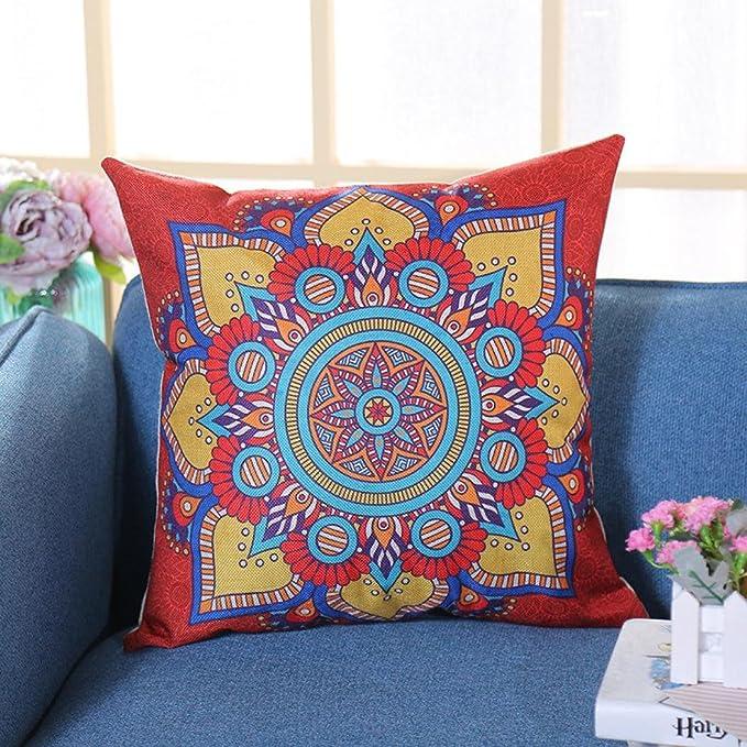 ronamick almohada funda de cojín (45 x 45 cm Multicolor ...
