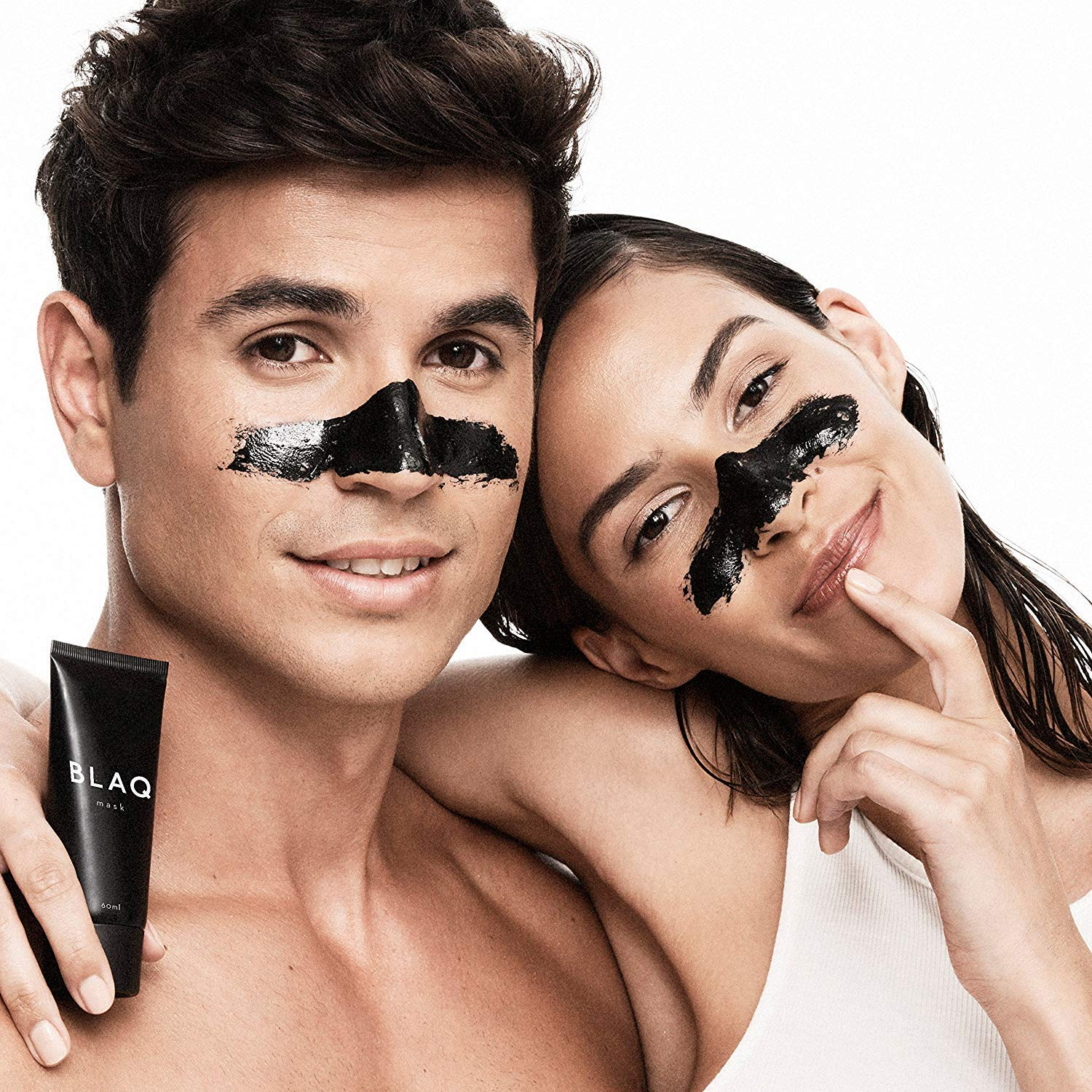 Activated Charcoal Peel Off Face Mask by BLAQ - Deep Cleansing, Exfoliating, Blackhead and Acne Remover - 60ml