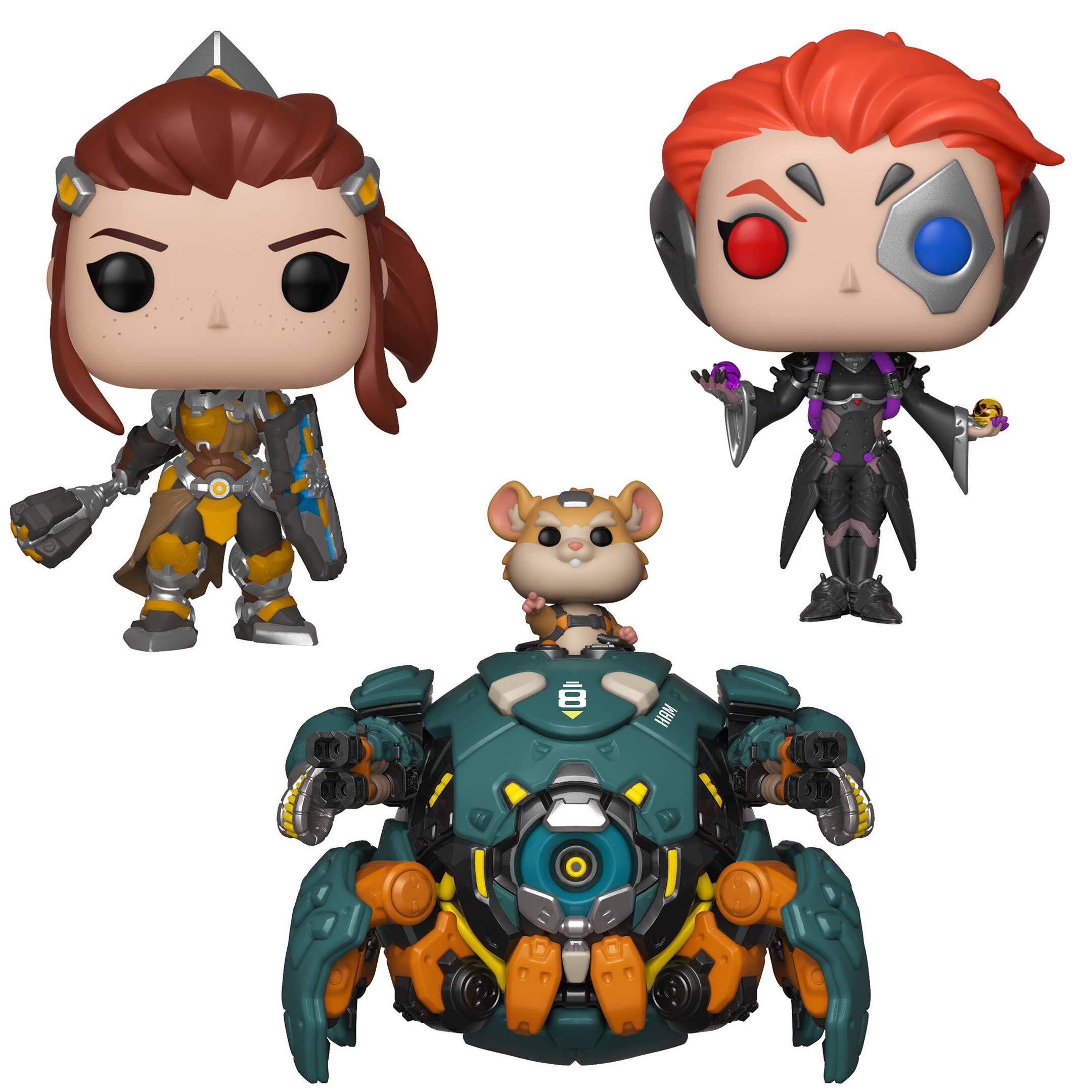 Funko Games: POP! Overwatch Series 5 Collectors Set - 6'' Wrecking Ball, Brigitte, Moira