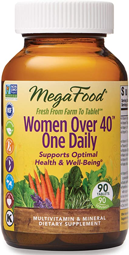 Best vitamins for 40 year old woman uk