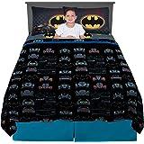 Warner Bros Franco - Juego de sábanas, Batman, 4 Piece Full Size, 1