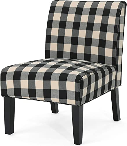 Christopher Knight Home Kendal Traditional Upholstered Farmhouse Accent Chair