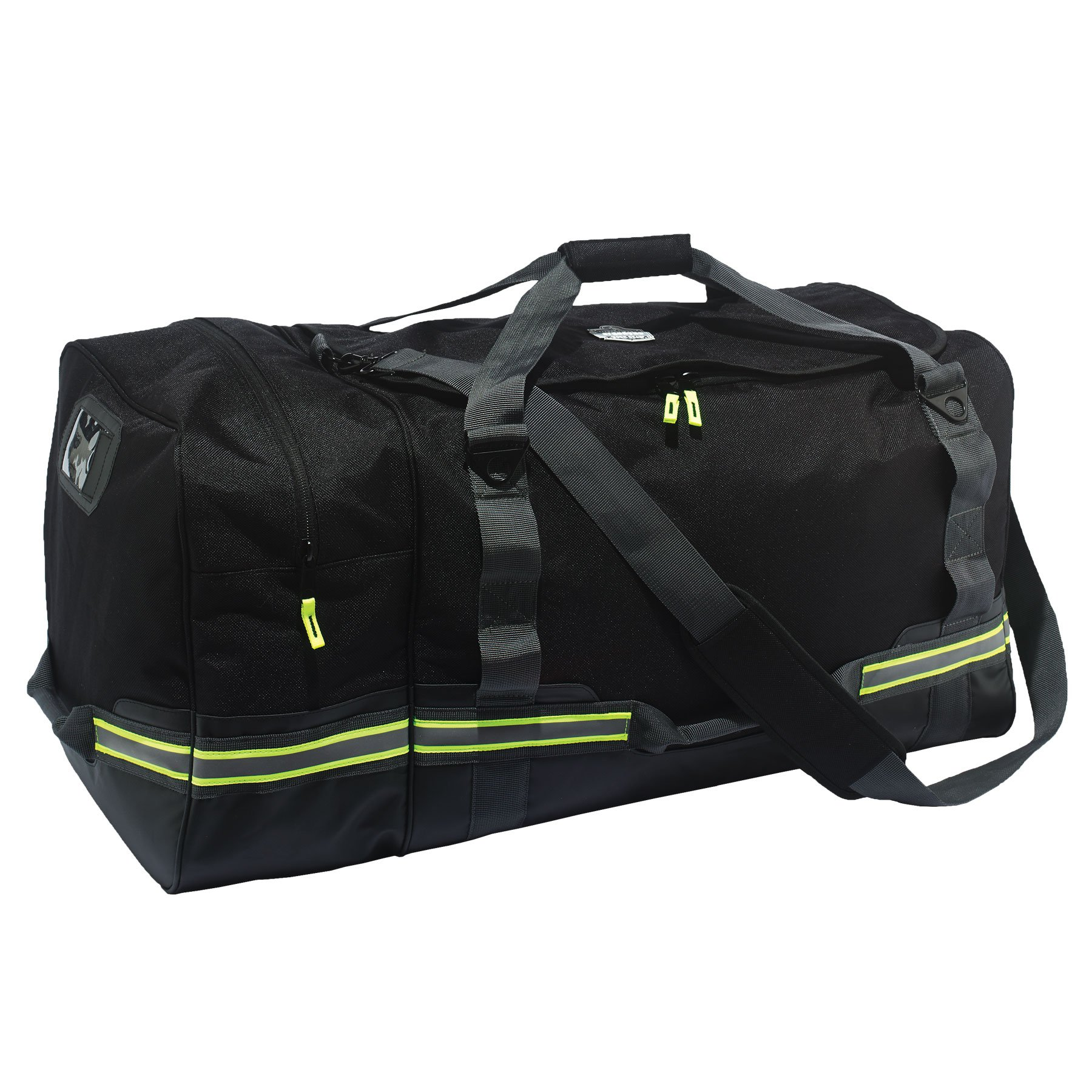 Arsenal 5008 Firefighter Turnout Gear and Safety Duffel Bag for Fire, Fall Protection and Sport Gear Bag Use, Black