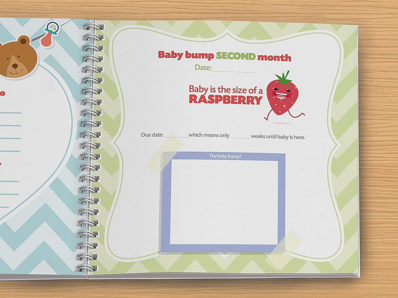 Schwangerschaft Journal und Baby Memory Book für Ihr Neugeborenes ...