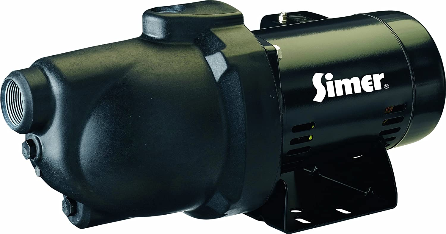 Simer 3105P 1/2 HP Shallow Well Jet Pump