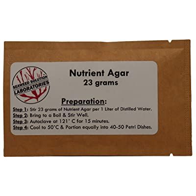Nutrient Agar (23 Grams Dehydrated) - Yields 1 Liter : Toys & Games