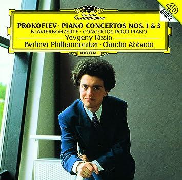プロコフィエフ:ピアノ協奏曲第1番・第3番