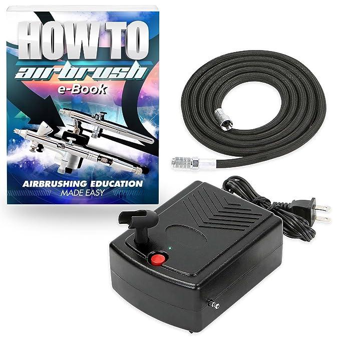 Amazon.com: pointzero Mini Portable aerógrafo compresor de ...