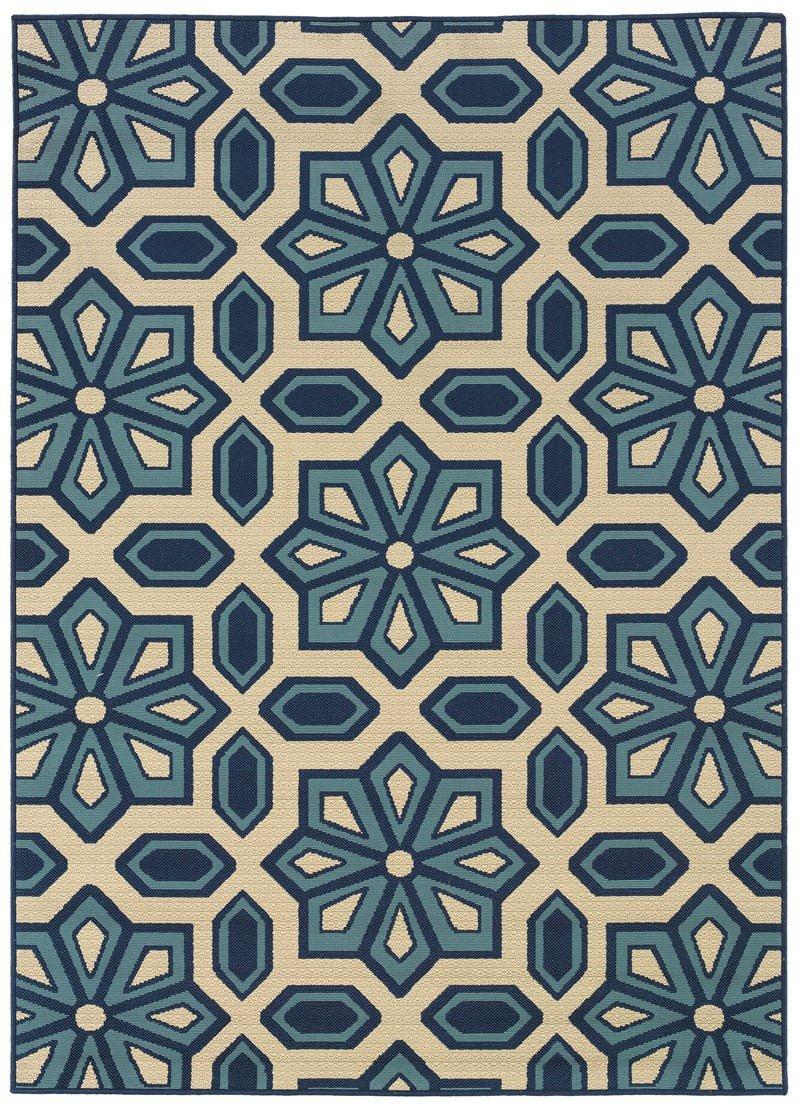 Amazon granville rugs coastal indooroutdoor area rug blue amazon granville rugs coastal indooroutdoor area rug blue 6 7 x 9 6 kitchen dining baanklon Gallery