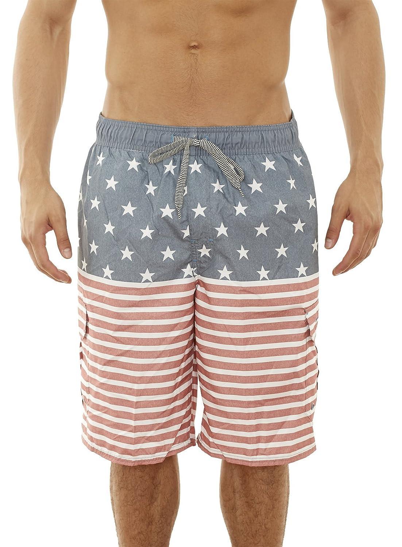 8beb154d99d Beverly Hills Polo Club Men s Bathing Suit Swim Trunk