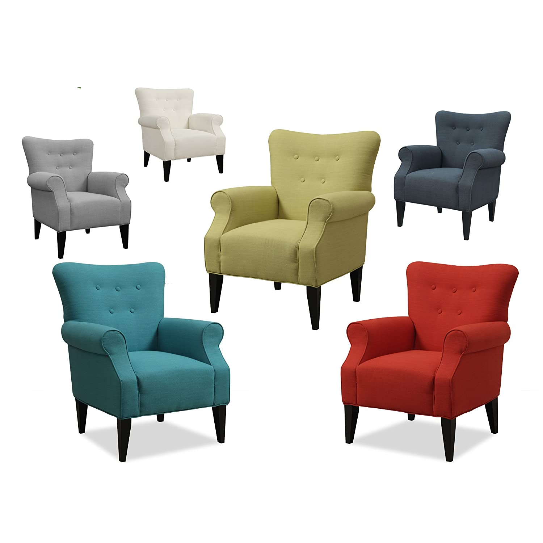 Amazon Emerald Home U360 05 01 Lydia Accent Chair Citrine
