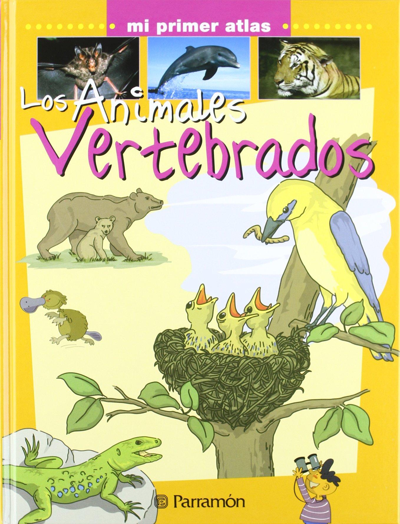 Los animales vertebrados (Mi primer atlas): Amazon.es: Marcet ...