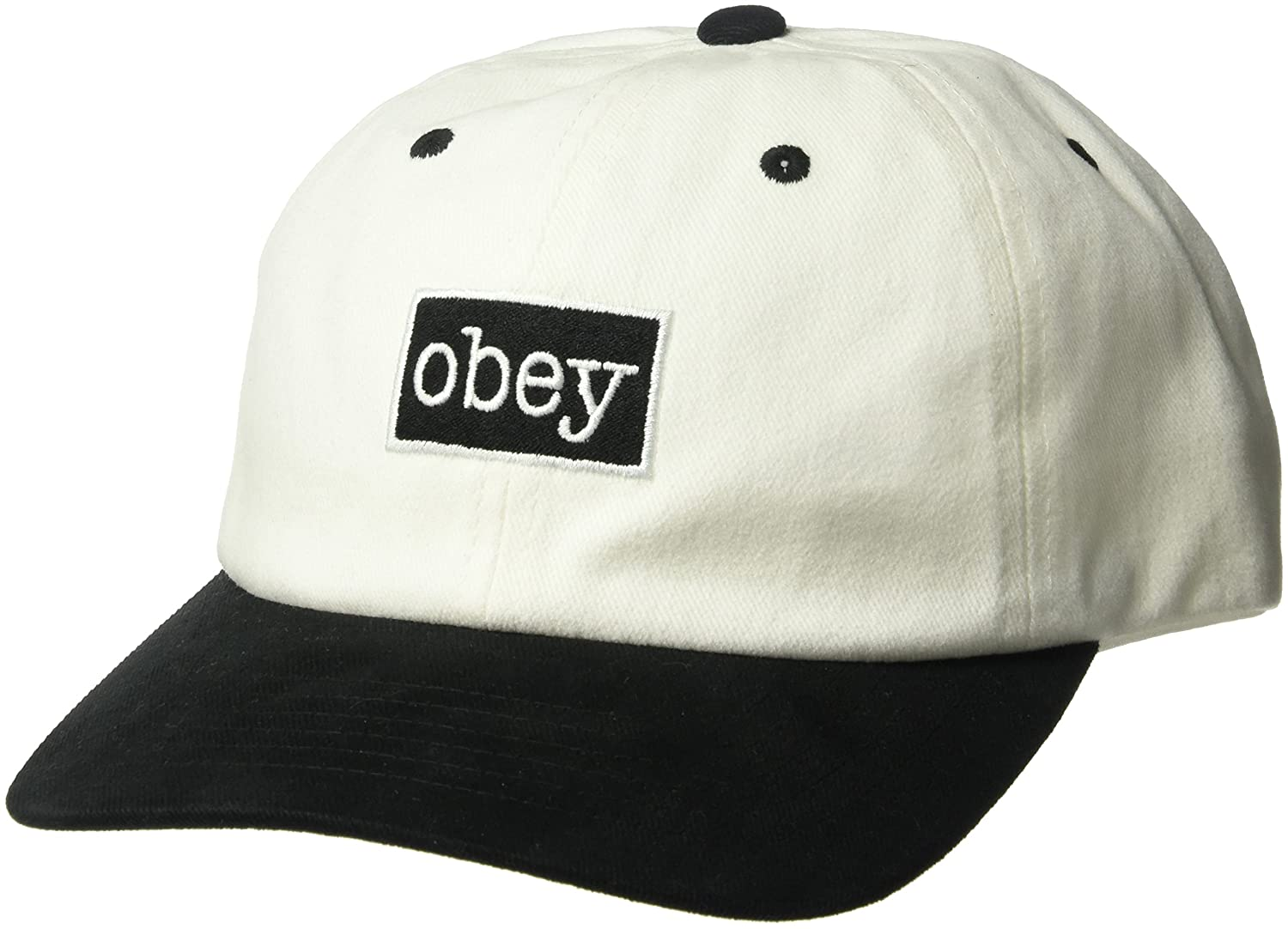 CAPPELLO ACCESSORI OBEY BROOKS 6 PANEL SNAPBACK 100580124 (OS ...