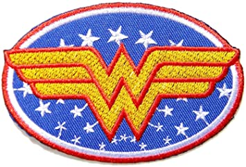 Wonder Woman Oval Patch