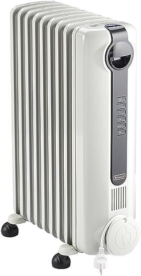 DeLonghi TRRS 0920 Calentador de aceite Interior Blanco 2000 W - Calefactor (Calentador de aceite