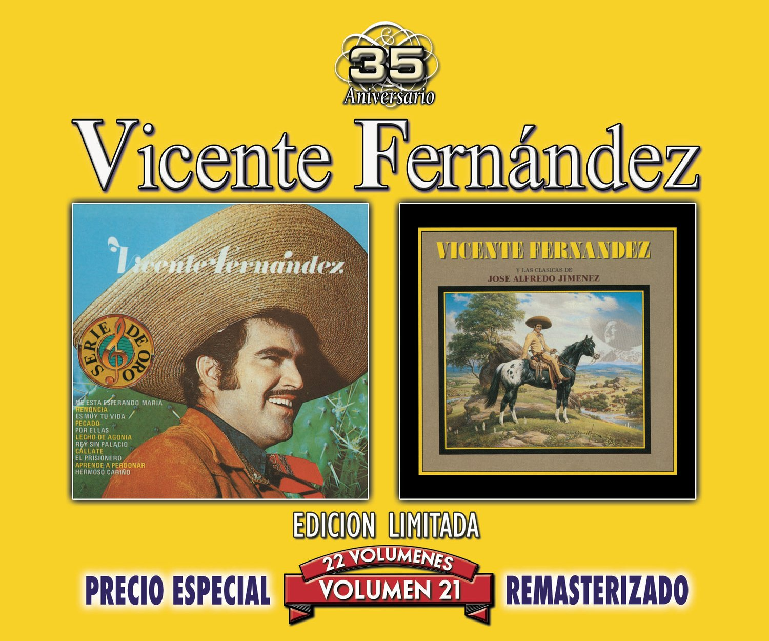 35 Anniversary Re-mastered Series, Vol. 21 by Sony U.S. Latin