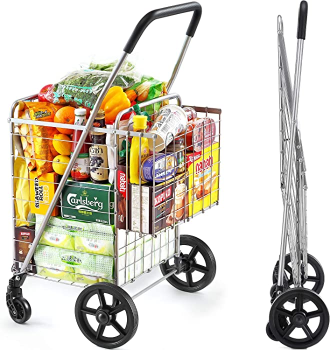 Top 10 Rolling Grocery Cart For Home
