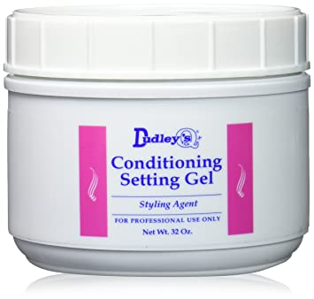 Dudleys Unisex Conditioning Setting Gel 32 Ounce