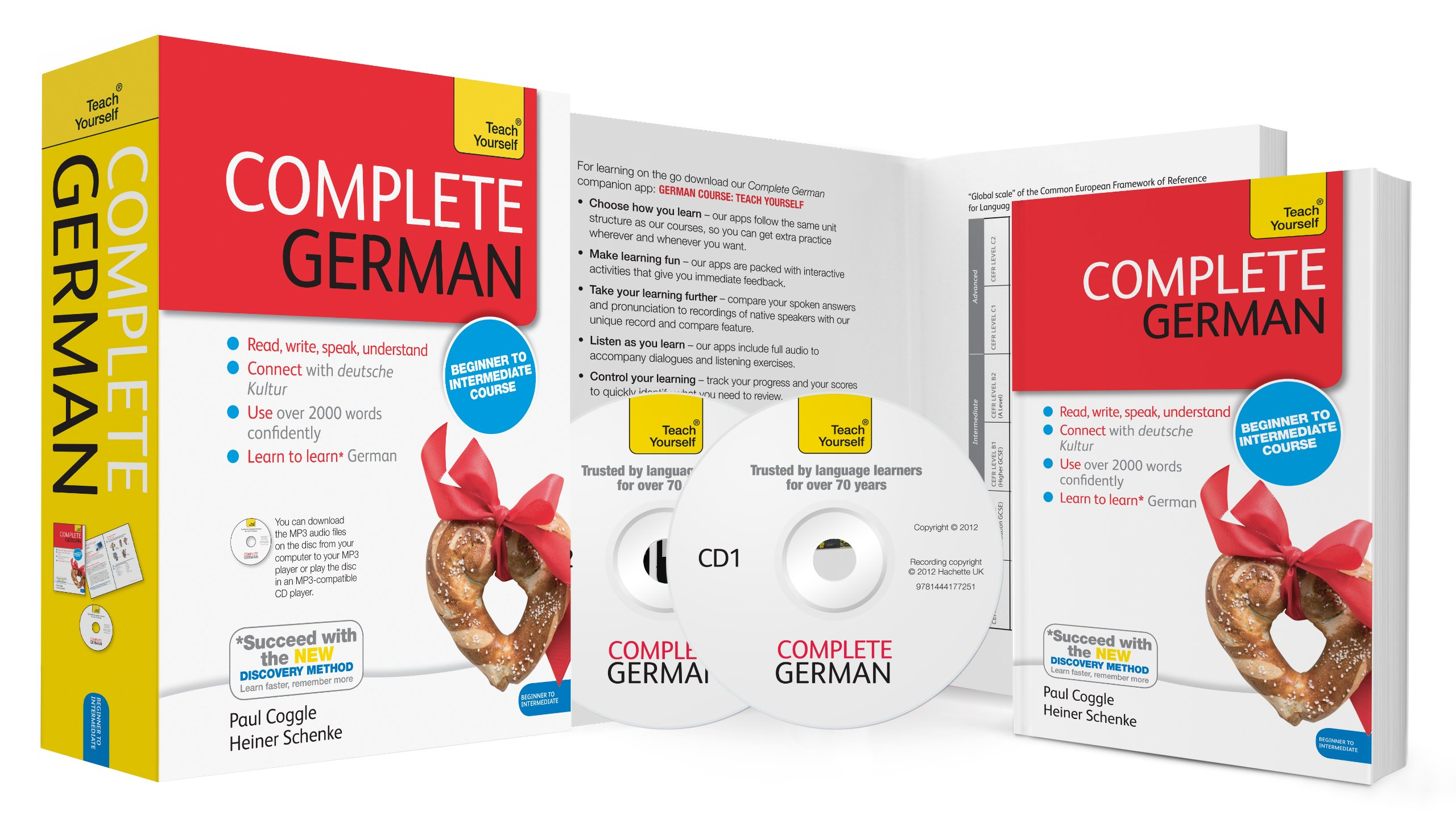 Complete German: A Teach Yourself Program (Teach Yourself Language): Heiner  Schenke, Paul Coggle: 9781444177398: Amazon.com: Books