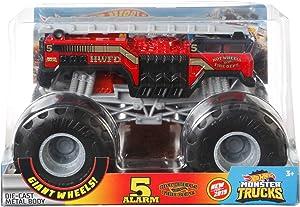 Hot Wheels 5 Alarm #2 Monster Truck, 1:24 Scale