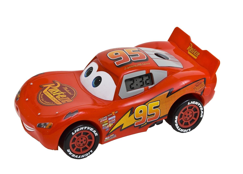 Cars 2 Joy Toy DC10 Despertador proyector con Movimiento, diseño ...