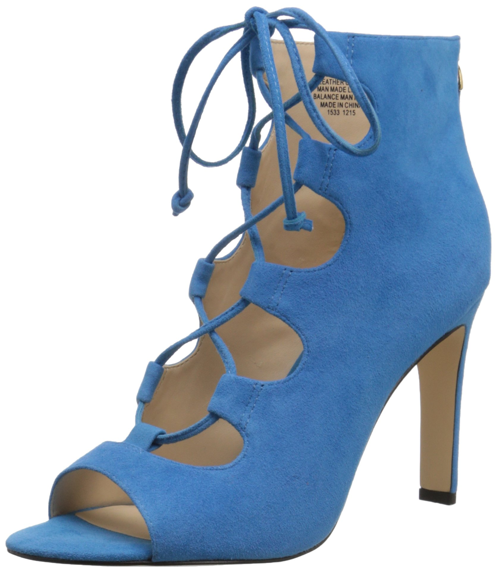 Nine West Women's Unfrgetabl Suede Dress Pump, Turquoise Suede, 5.5 M US