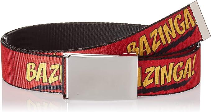 Buckle Down Herren Web Belt The Big Bang Theory 1 5 Gürtel Mehrfarbig 4 Cm Breit 42 Cm Hosen Größe Bekleidung