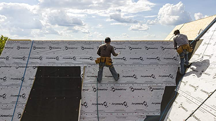 How to lay roofing felt