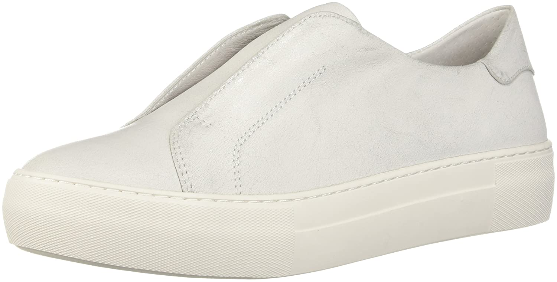 J Slides Women's Alara Fashion Sneaker B076DQCBQX 6.5 B(M) US|Silver