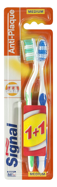 Signal Cepillo Dental Esencial - 2 lote: Amazon.es: Salud y ...
