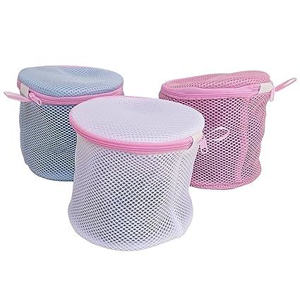 hulless (tamaño normal) sujetador bolsa de lavado y sujetador ropa interior bolsas para ropa