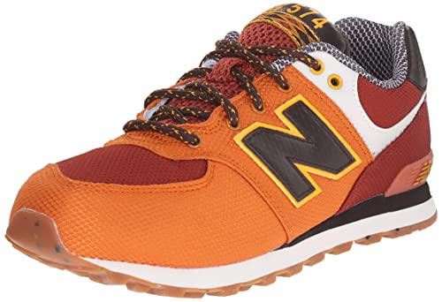 Orange Multi New Mesh Youths 574 Expedition Balance Trainers Weekend qRT5v67