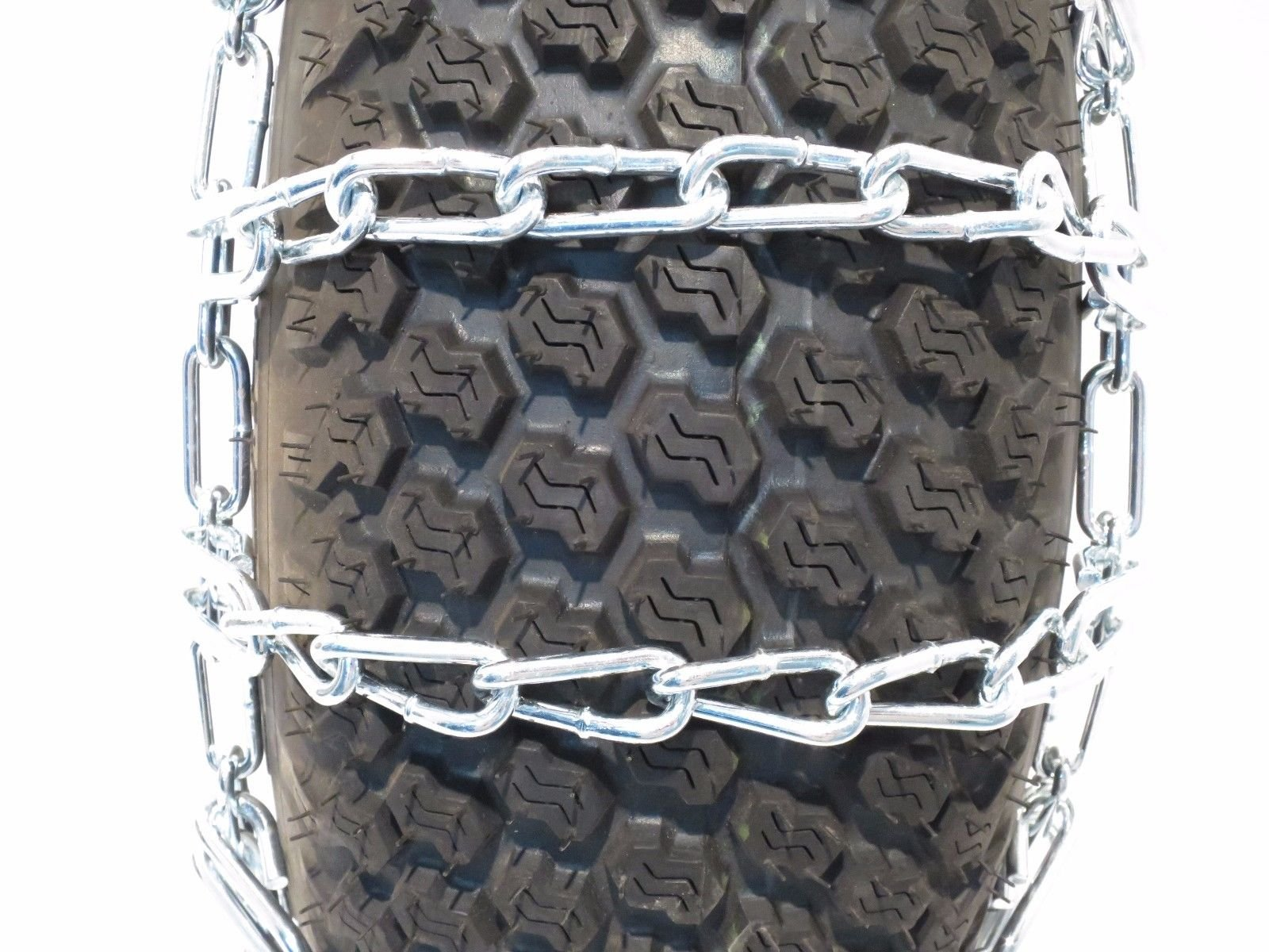 New PAIR 2 Link TIRE CHAINS 23x10.5x12 fits many Honda MUV Pioneer UTV Vehicle by The ROP Shop by The ROP Shop (Image #2)