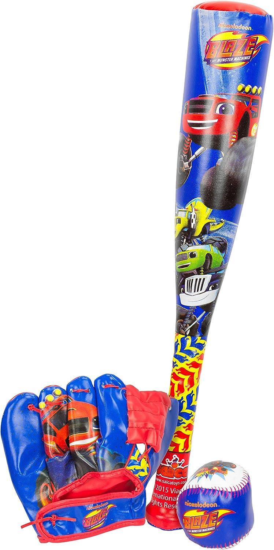 Blaze & Monster Machine - Bate Baseball con un Guante y una Pelota ...