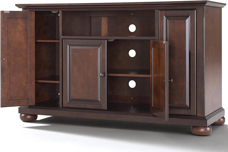 Crosley Furniture Alexandria 48-inch TV Stand - Vintage Mahogany